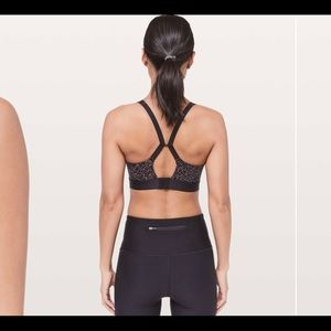 Lululemon Fine Form Bra Lacescape Spanish Rose